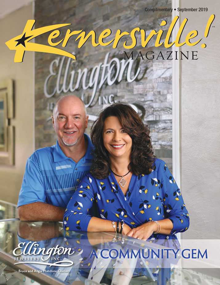 Ellington Jewelers - Kernersville Magazine Cover